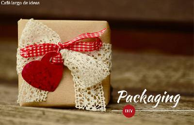 DIY: packaging original para tus regalos DIY Deco