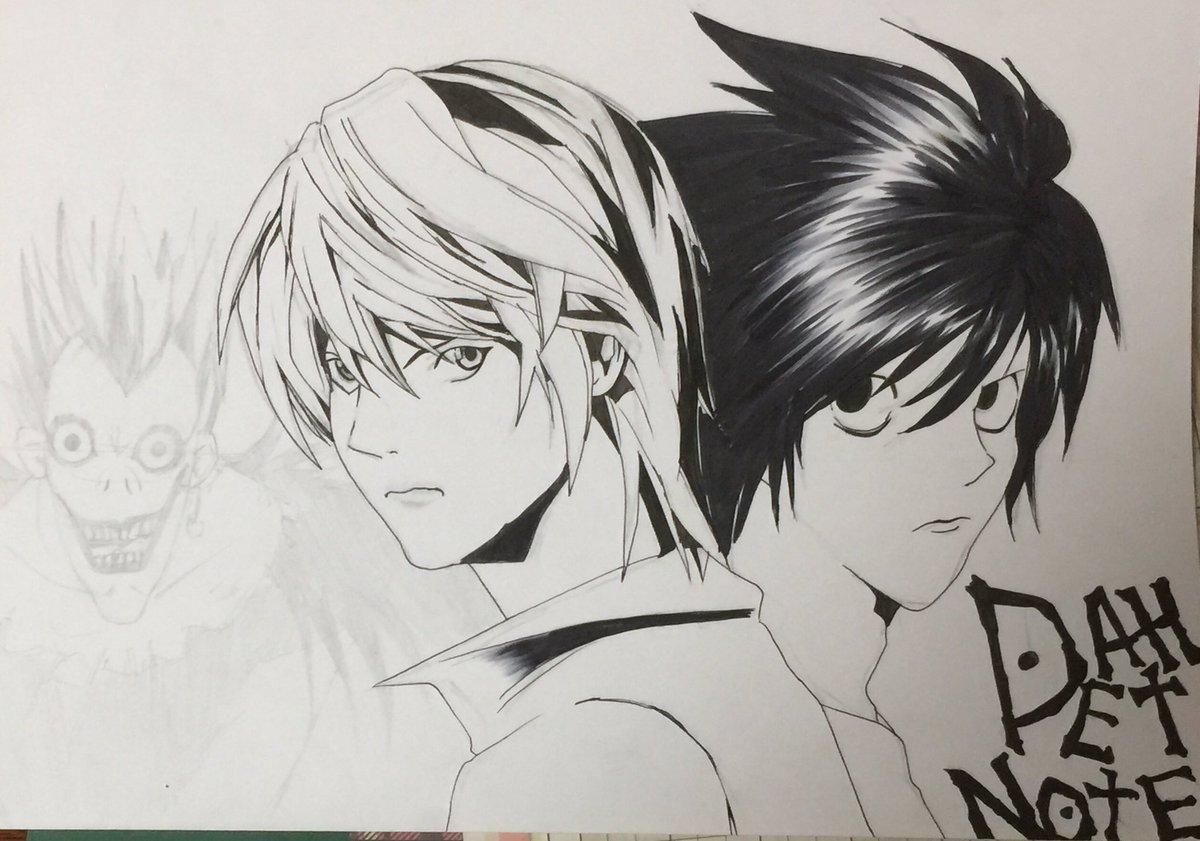 Taka模写アカ On Twitter 過去絵の下書きのままの放置を線画だけ描い