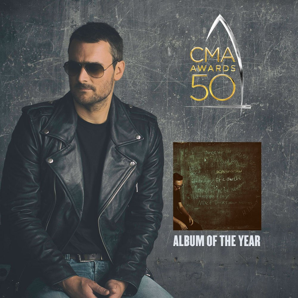 "This one is for the Church Choir! Mr. Misunderstood, 2016's @CountryMusic CMA award winner for ""Album of the Year"" https://t.co/LDTm5E6yr6"