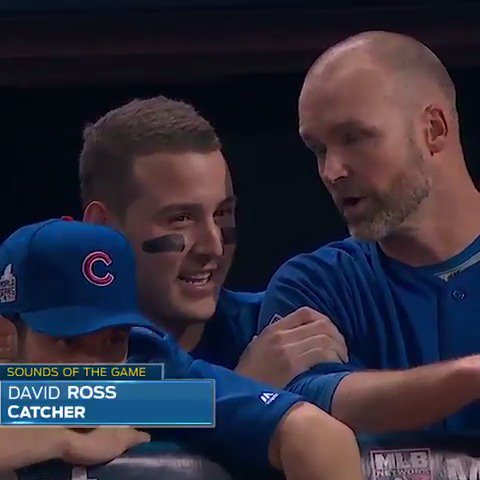 """""""I'm in a glass case of emotions right now.""""- @ARizzo44 to @D_Ross3"""