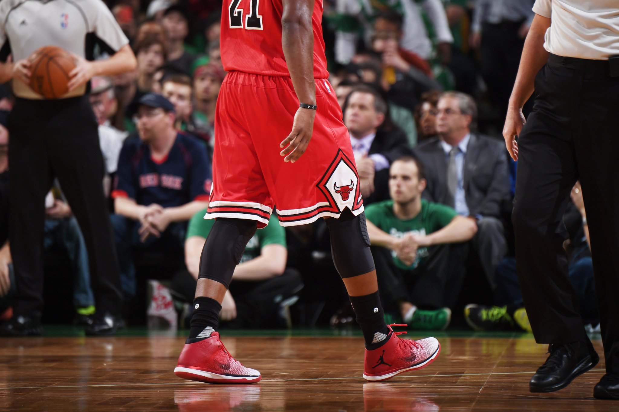 71302fc0a3ed Wearing Carmelo Anthony And Jimmy Butler Debut Air Jordan 31 In Team USA .  ...