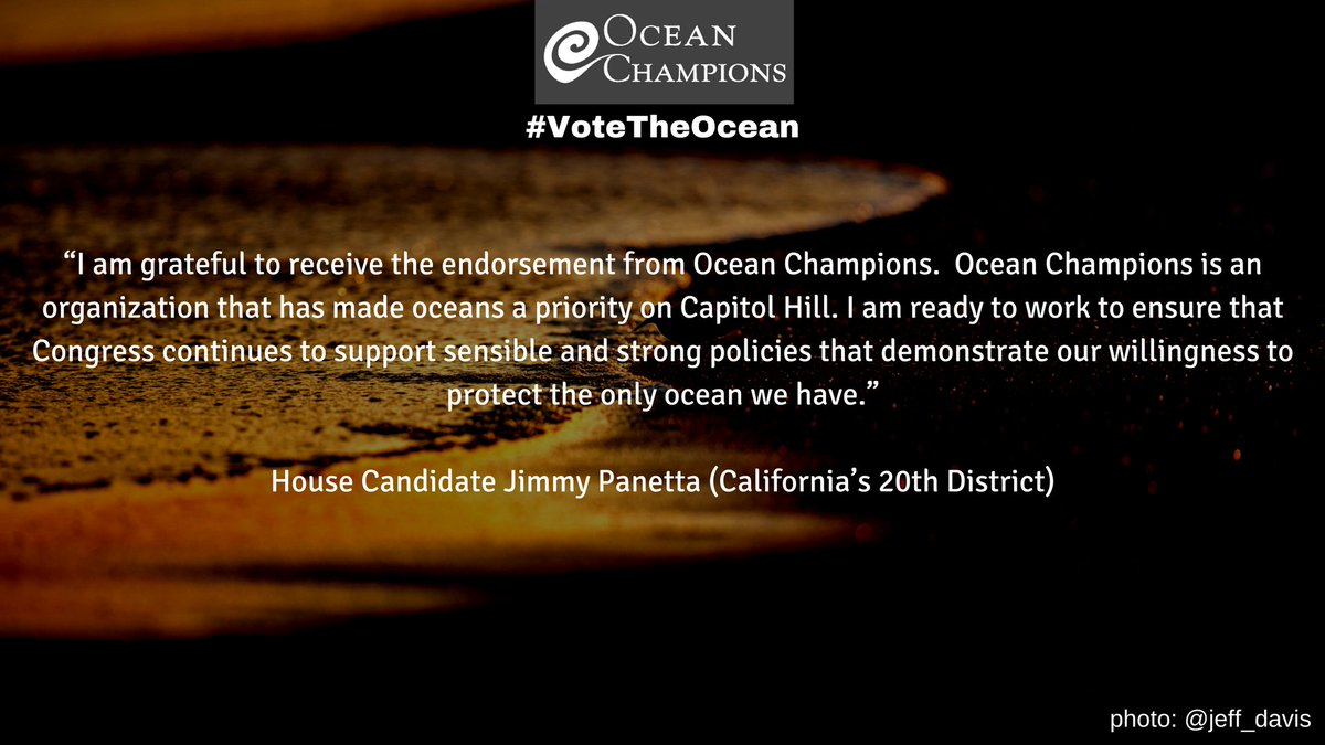 #VoteTheOcean | Elections matter and we need to elect more ocean champions now! Learn how at https://t.co/6CtBTYrzSG https://t.co/JTZeJqMRr7
