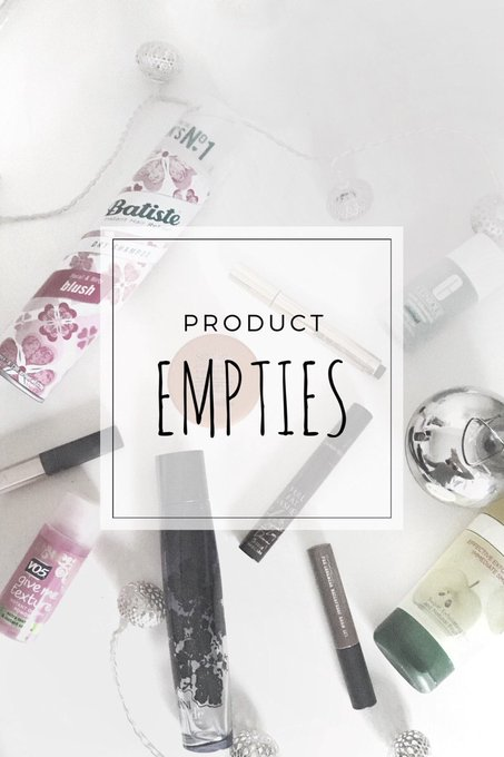 ICYMI: My product empties! makeup bbloggers