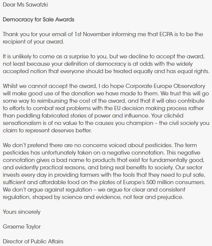 ECPA on Twitter: