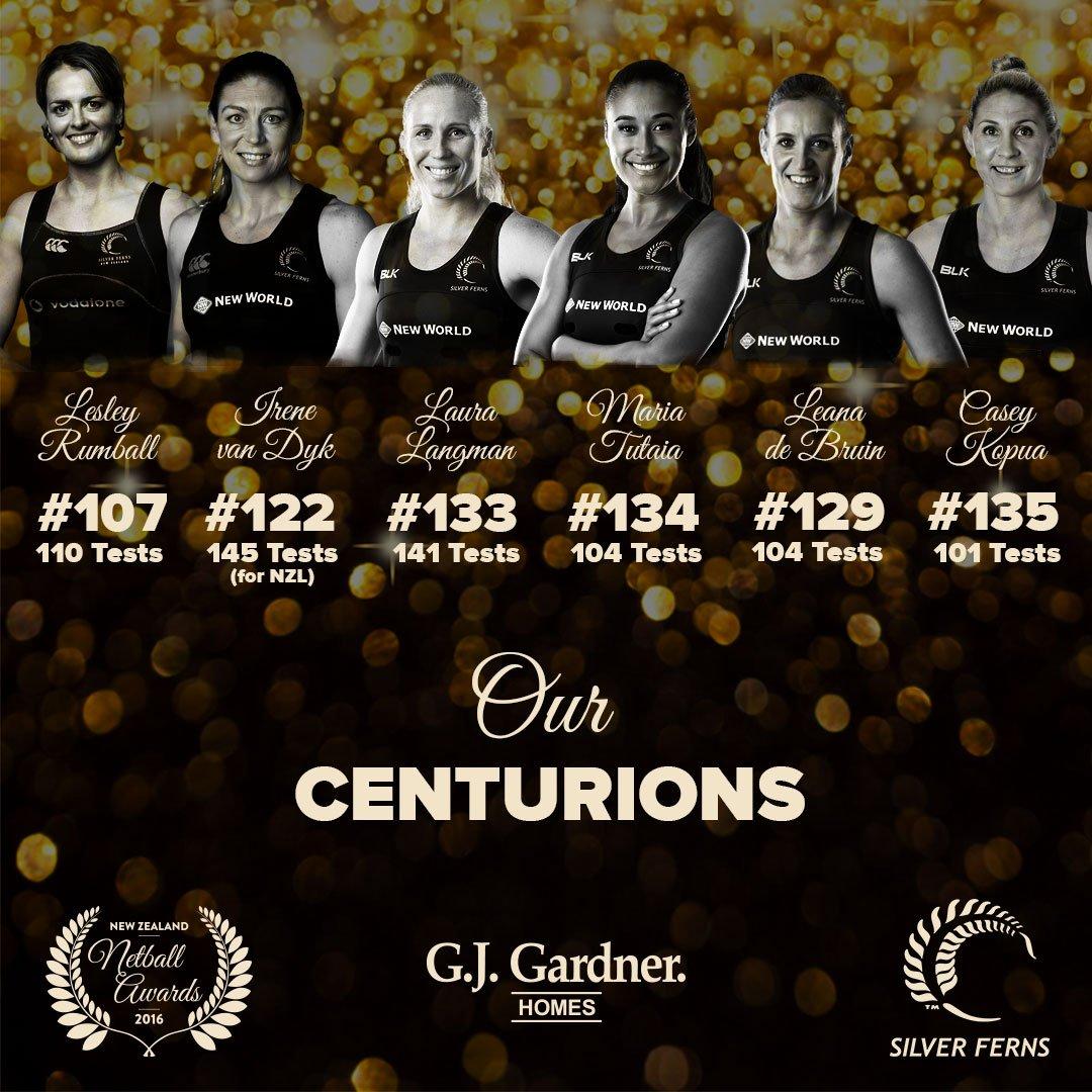 Standing ovation for our @SilverFernsNZ Centurions at the #NZNetballAwards! https://t.co/oVLlsCNvaz