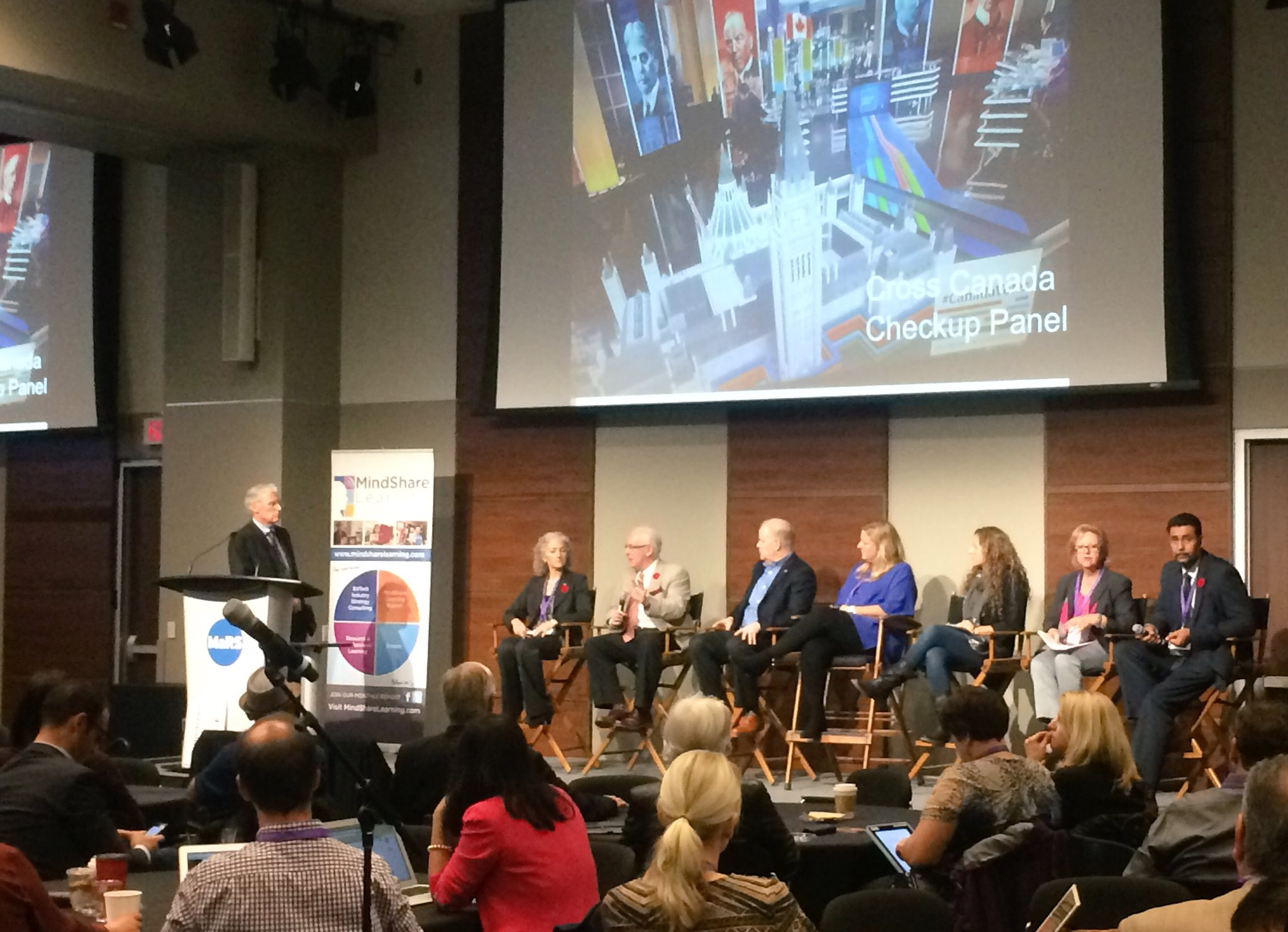 The Cross Canada Checkup Panel providing the current state of #EdTech in Canada #CdnEdTech16 https://t.co/toMAjXrwPm