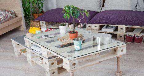 Transformer une palette en meuble de rangement : diy travaux