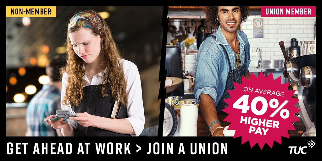 Get ahead at work > Join a Union