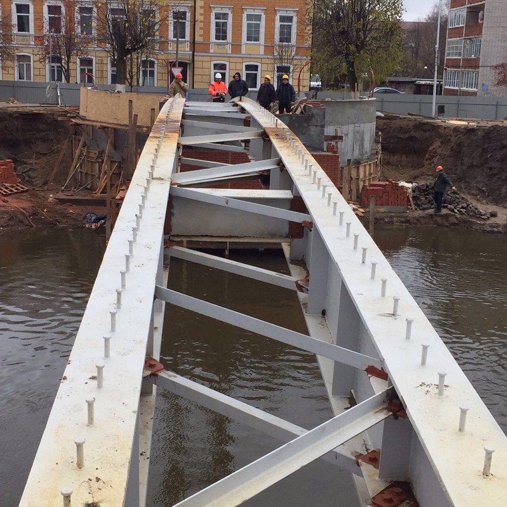 такого звездного фото нового моста в гусеве этим объясняется то