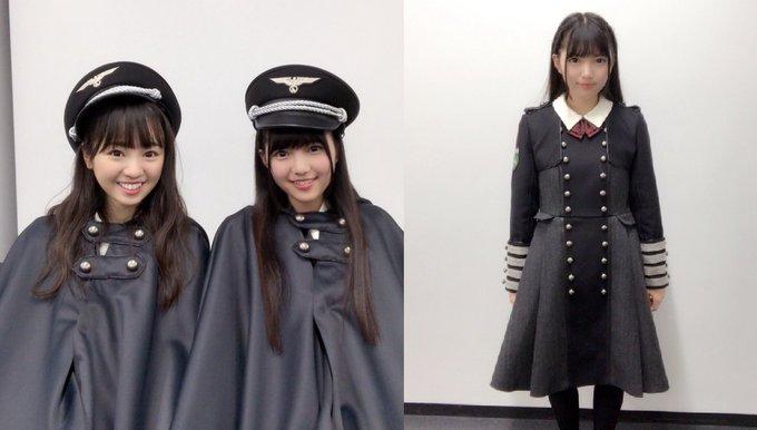 各国の軍服と件の衣装。いやもう、どこが「ナチス風」なのか。単に「軍服一般に見られる意匠」と「ナチスに特有の意匠」が全く区別できてないだけじゃねえの?