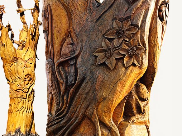 980 Cfpl London News On Twitter London S Hamilton Road Tree Trunk Tour Is About To Add Another Carving To Its Route Https T Co Et5llv7vqj Ldnont