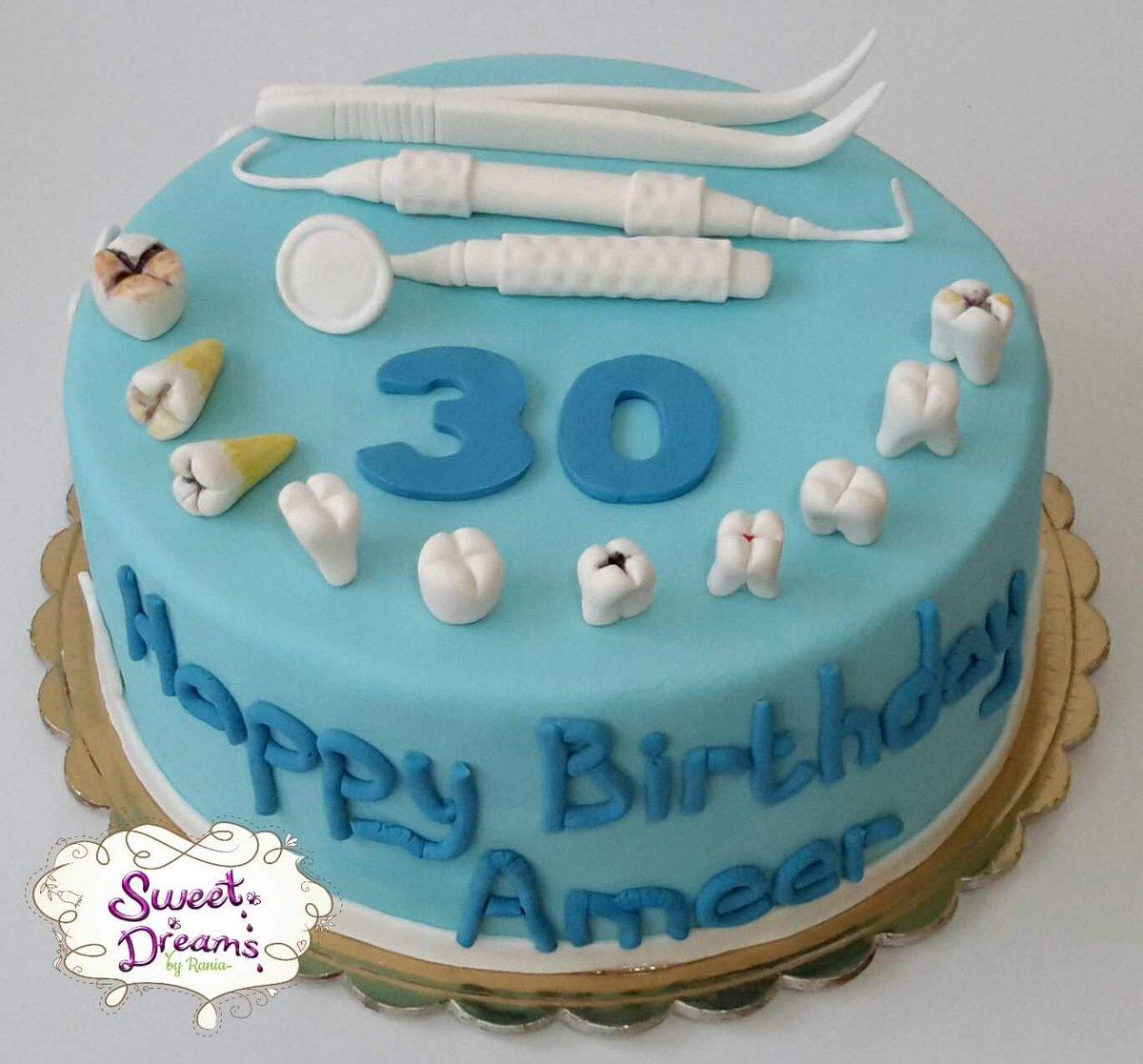 Sweet Dreams Byrania On Twitter Dentist Cake Sweetdreamsbyrania