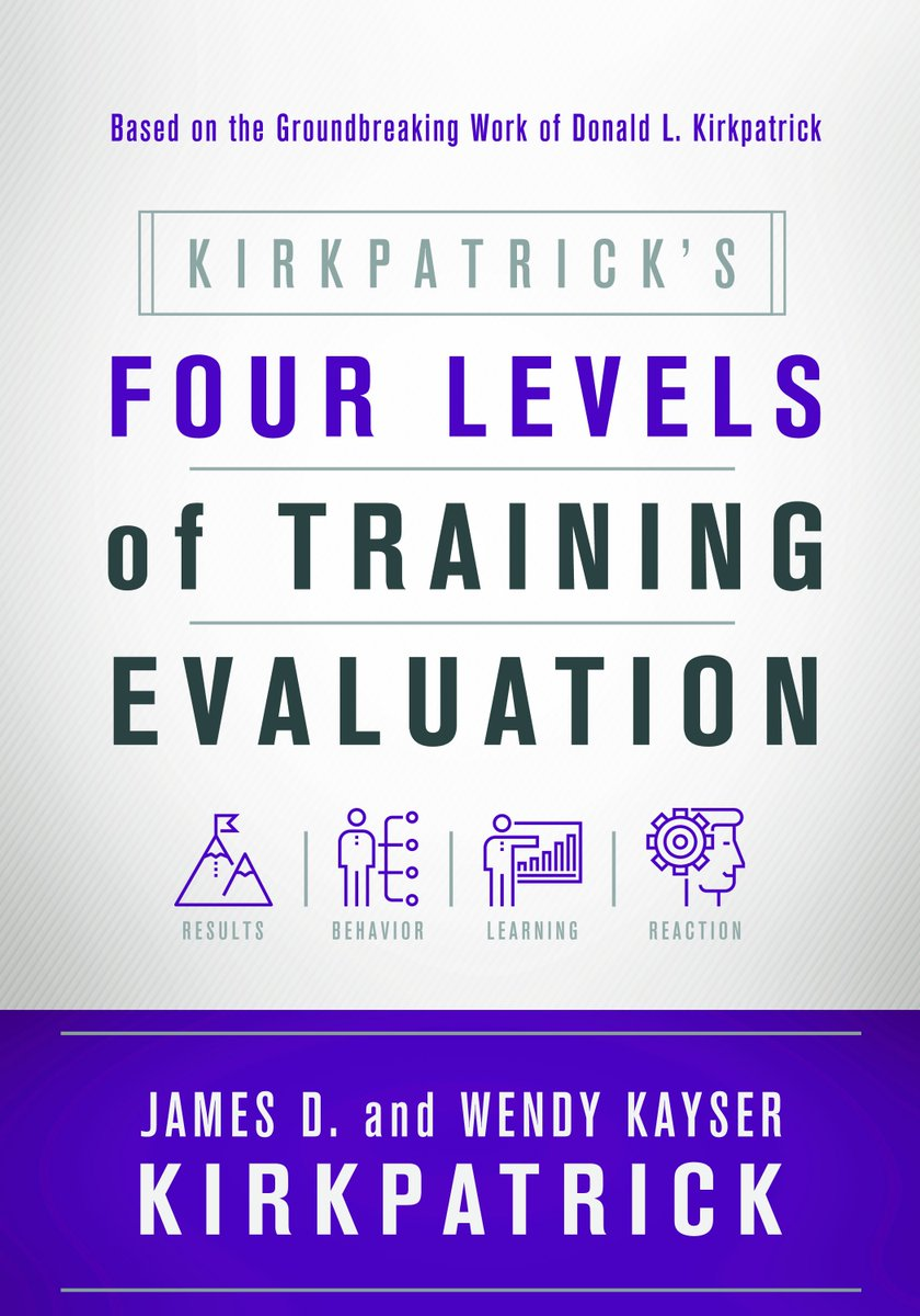 """Click here to read the stellar reviews for """"Kirkpatrick's Four Levels of Training Evaluation."""" https://t.co/IadkODoifY https://t.co/eDP8pda8Bb"""
