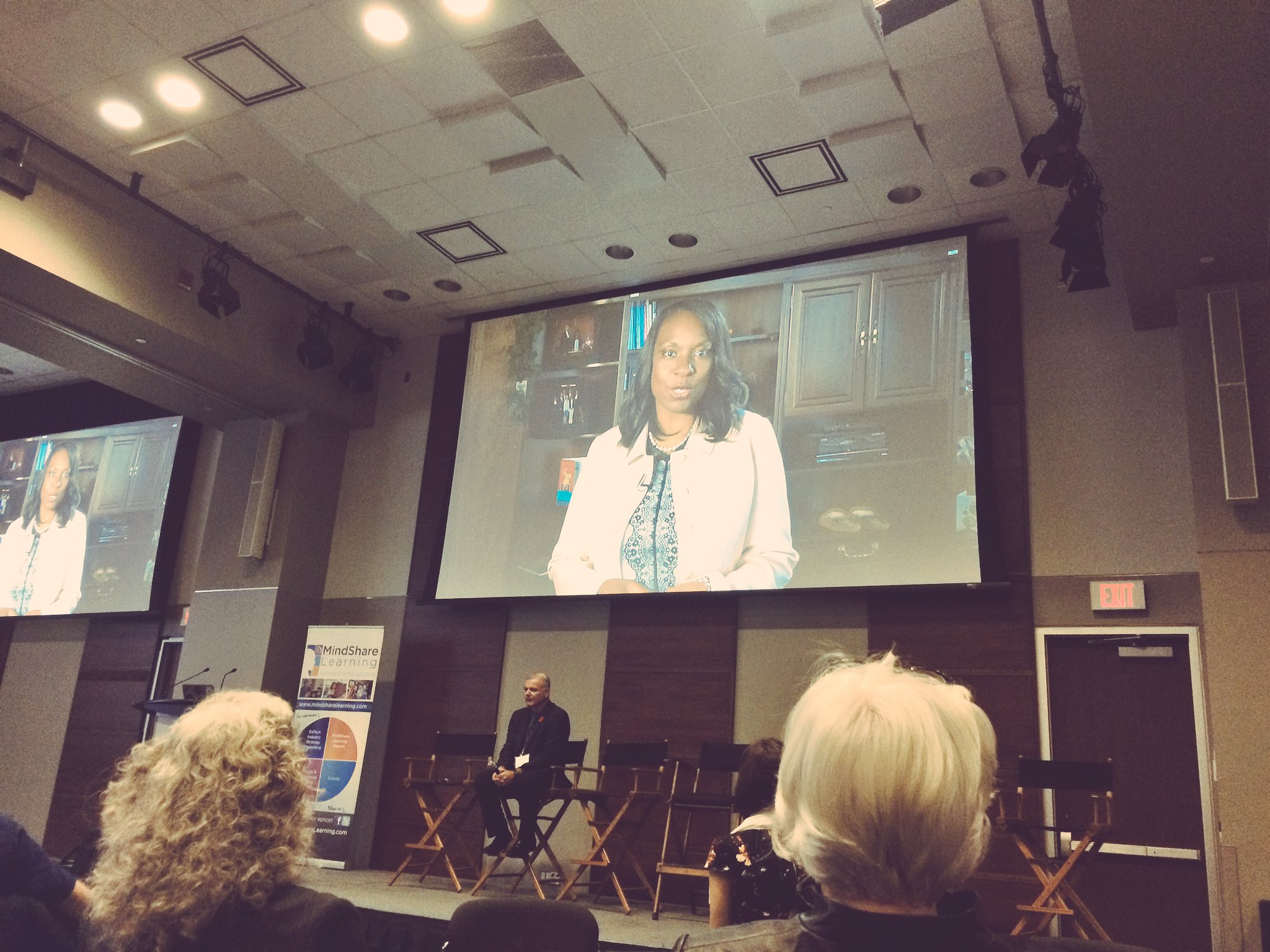 Love hearing how @MitzieHunter believes how character will set students up for life long success #cdnedtech16 https://t.co/dZDZmzkumU