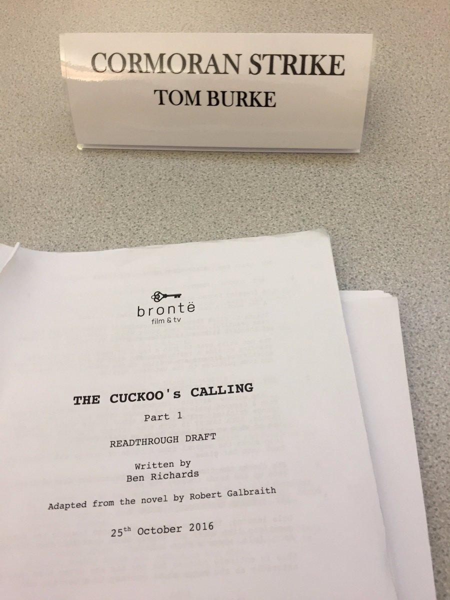 The Cormoran Strike Mysteries : The Cuckoo's Calling BBC 2017 CwW10qJXAAgMmV_