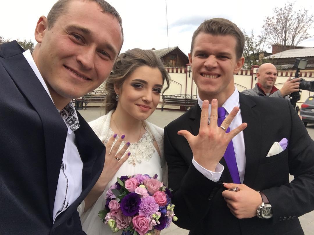 Алия Мустафина и Алексей Зайцев поженились! фото