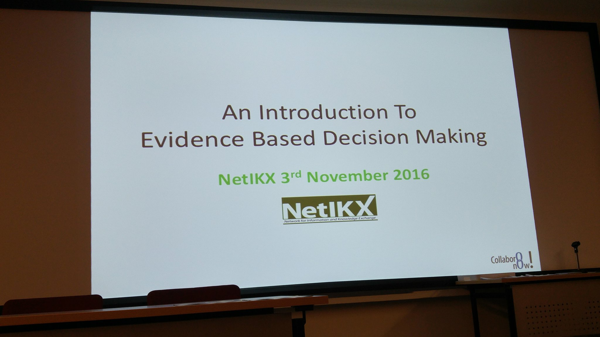 About to kick off #netikx82 with @stephendale https://t.co/4mByU7ezL8