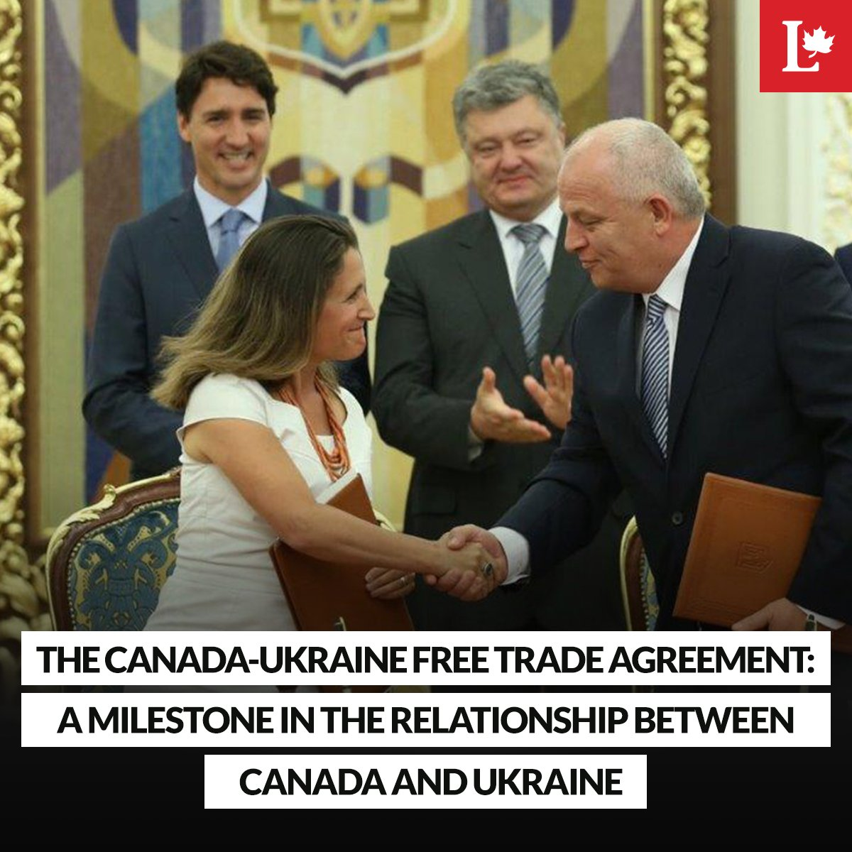 An important step to deepen economic ties between Canada and Ukraine #CUFTA tabled in Parliament today #cdnpoli https://t.co/0p4F8hipqB