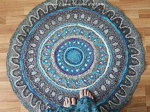 Felt your own fabulous wool rug diy handmade craft