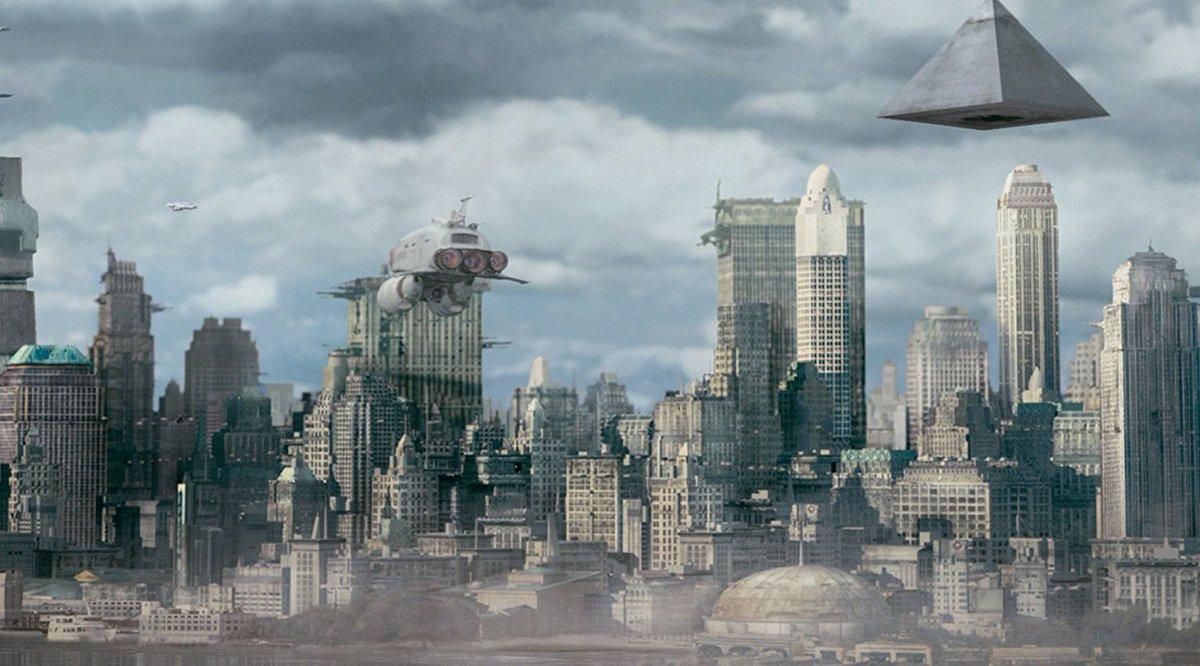 Mangel Contrerasch On Twitter Scifi Cityscapes New