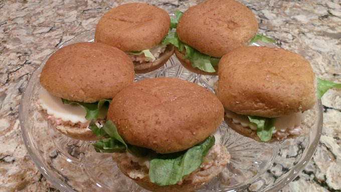 Bologna Sandwich Spread Sliders Enjoy!