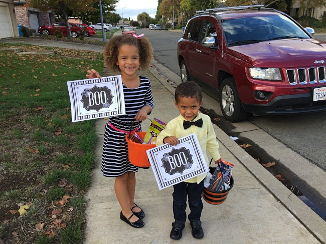 You've been Boo'd kids parenting DIY