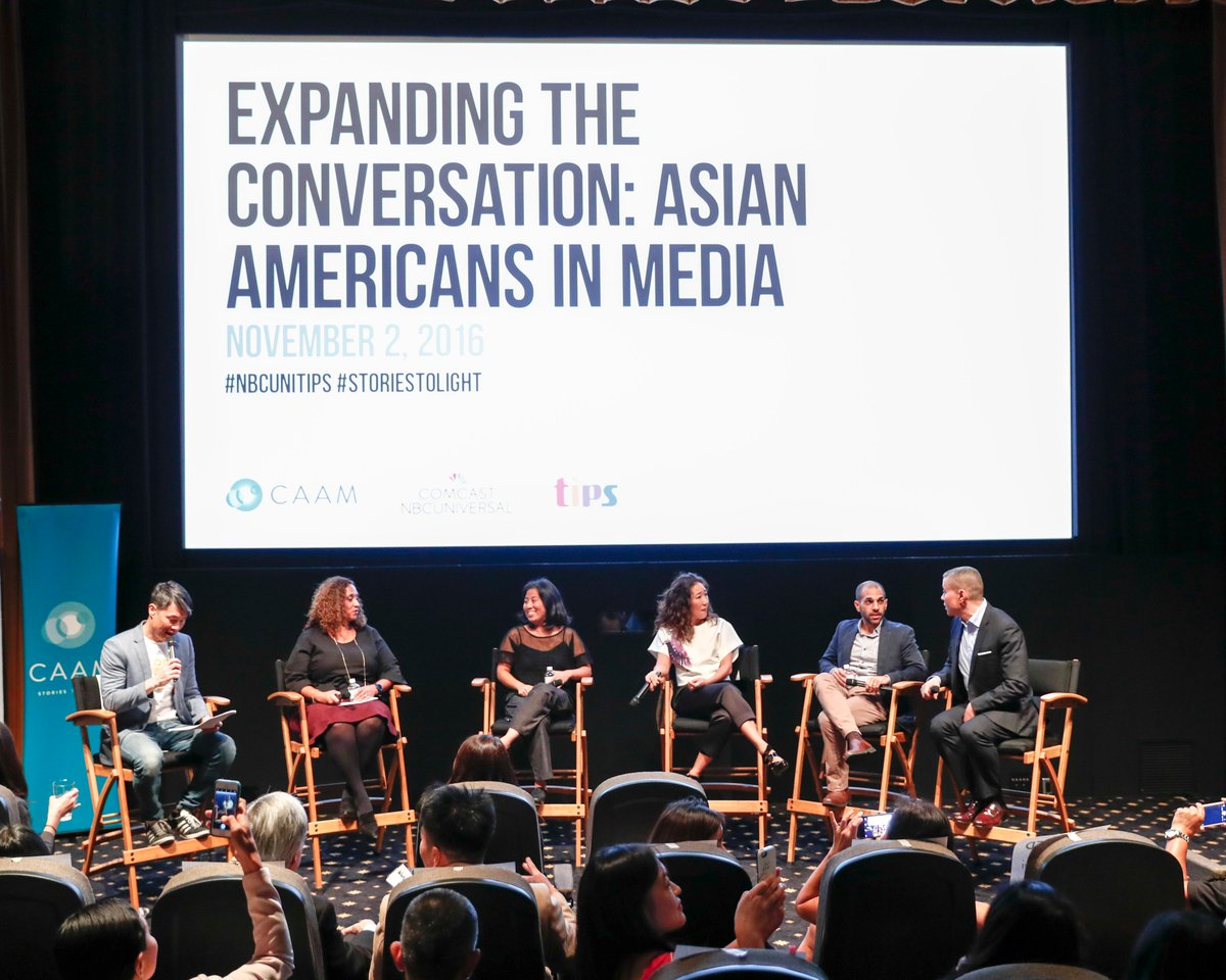 "From last night's ""Expanding the Conversation: Asian Americans in Media"" panel: https://t.co/bdThVcdR91 https://t.co/XcNOTwCnUM"