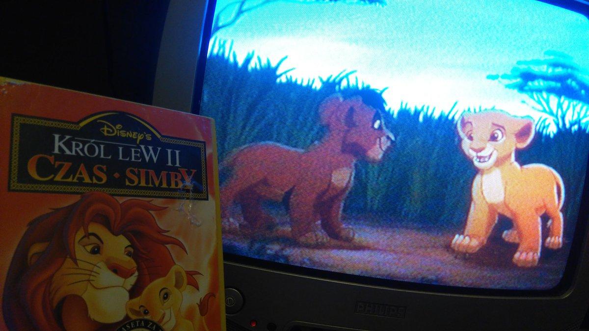 Watching #TheLionKing II tonite #Disney #VHS #KrólLew pic.twitter.com/LfJZaTlcvI
