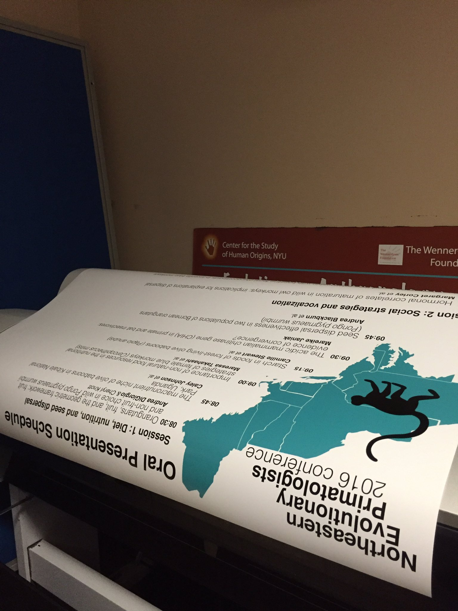 #NEEP2016 prep!! Poster of all the talk schedule ✔️ https://t.co/61coUWVIvR