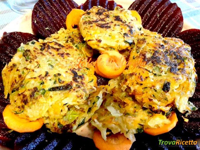 Rost di patate zucchine e carote golosissimi