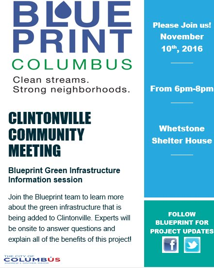 Blueprint columbus on twitter dont forget about the green 130 pm 3 nov 2016 malvernweather Gallery