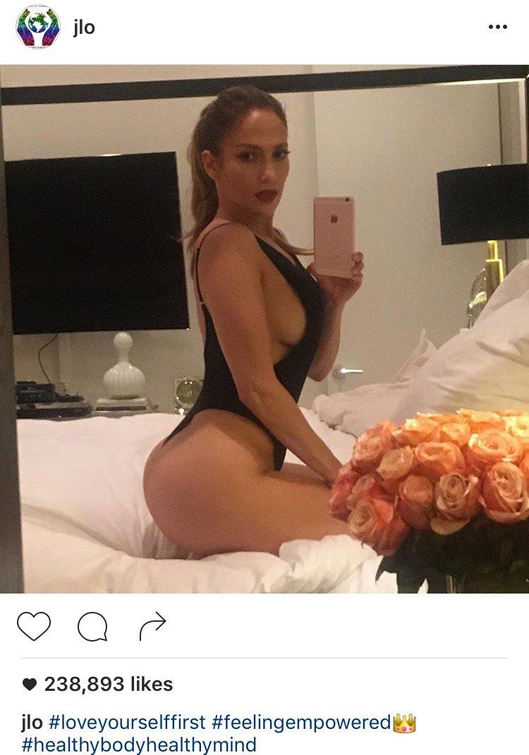 Jennifer Lopez In Thong