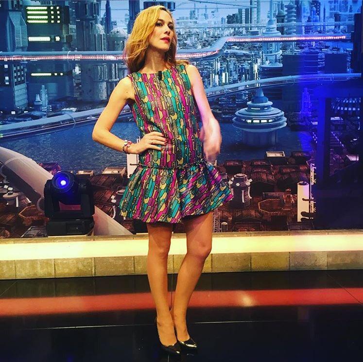 "@Martahazas ,hoy en #ElHormiguero , con vestido ""Gelly"", de Bgo & Me!!#bgoandmegirls #celebritiesinbgoandme #gellydress #martahazaspic.twitter.com/Ov8RVvOXEw"