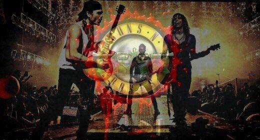 Mañana tocamos con la mejor banda del planeta!! Gracias por invitarnos GNR!! Que fiesta gunner!!! #NotInThisLifetime https://t.co/vSgIXqHqYX