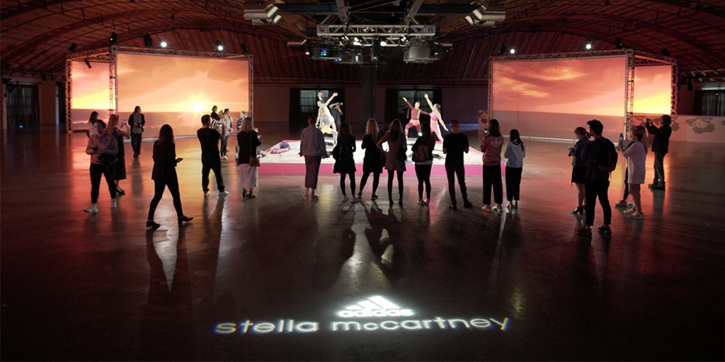 A final look inside the @adidas by @StellaMcCartney SS17 Collection Presentation in Los Angeles yesterday. #aSMC