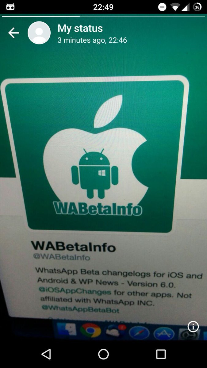 Wabetainfo On Twitter Whatsapp Beta For Android 216336