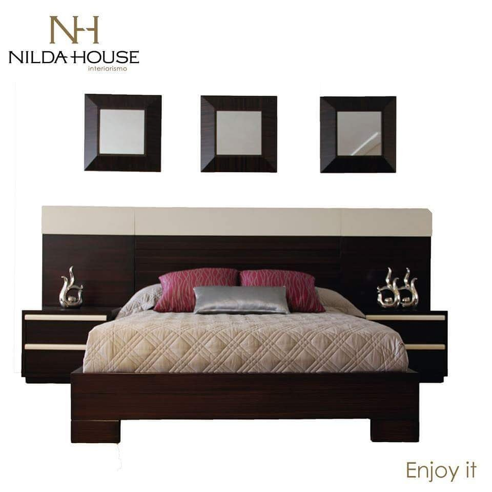 Nilda House On Twitter Una Cama Con Paneles Fabricada Con Seike  # Muebles Nilda House Quito
