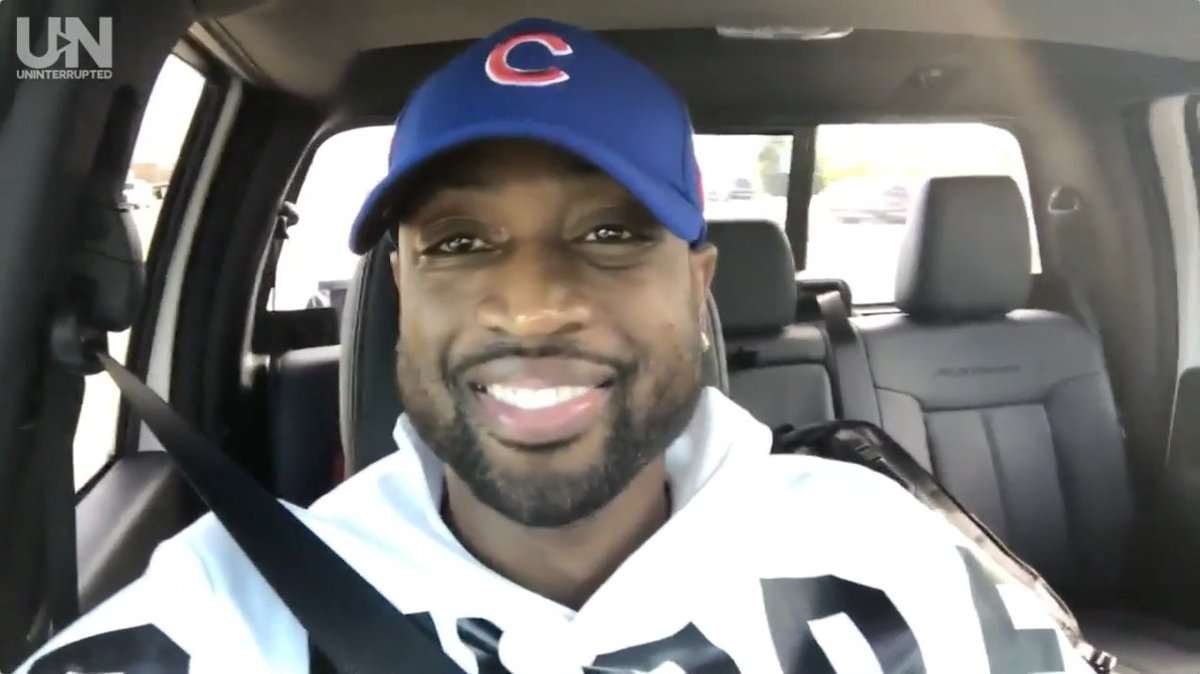 Dwyane Wade gloats about winning his Cubs uniform bet with LeBron James