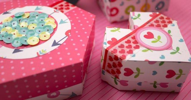 DIY: Cajitas de papel en origami fiestas cumpleaos ninos
