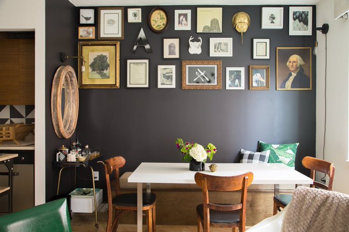 An Urban Cottage In Hell's Kitchen homedecor home diy newyork
