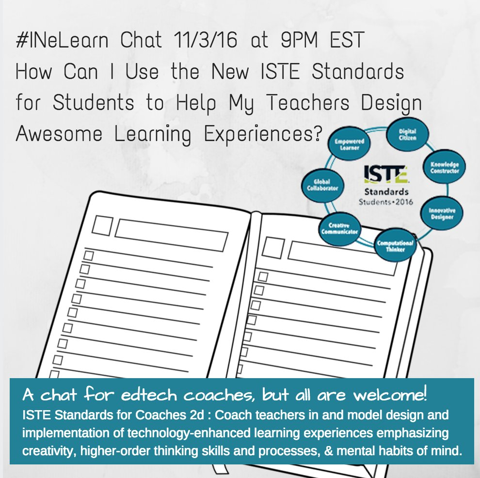Thumbnail for #INeLearn Chat 11/3/16