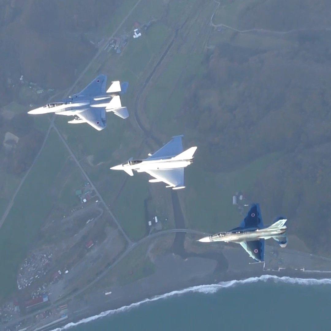 日本で感じた航空自衛隊の鼓動、私達の心ので響き続きます。受けたおもてなしは決して忘れることはありません。それではまた会う日まで! https://t.co/omkWtXZJGA
