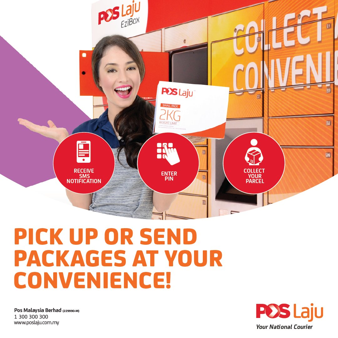 GD Express or Pos Laju. Which service is safer?