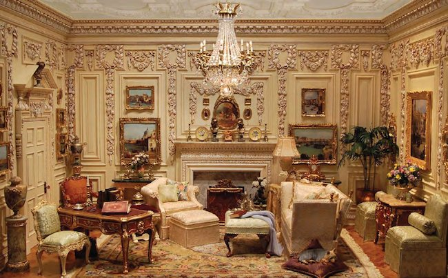 Increase Apparent Space In A Miniature Room Dollhouse Miniature Crafts