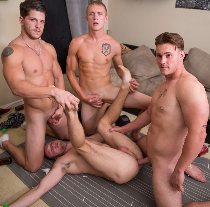queer anal sex gangbang