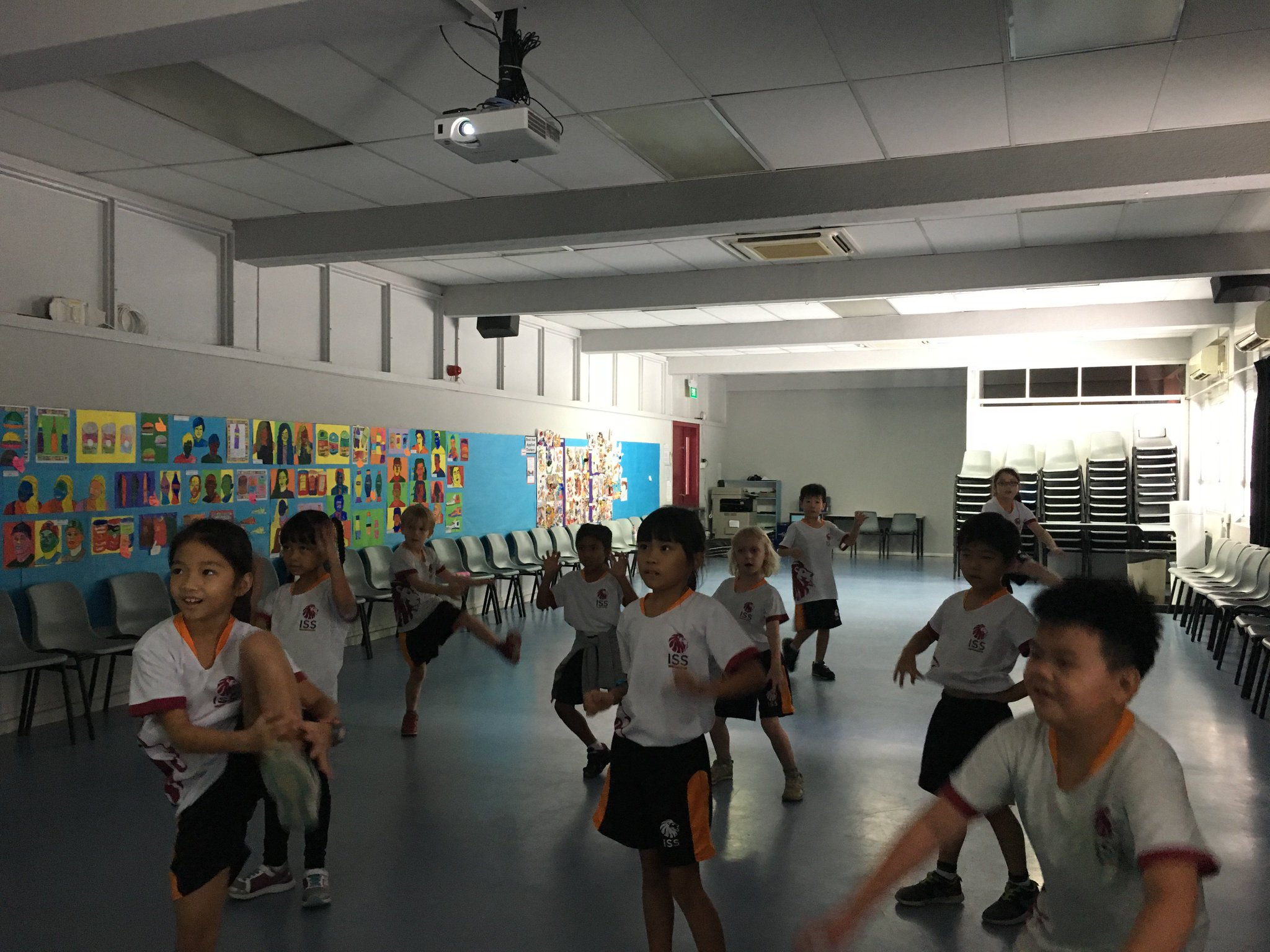 @ISSG22  Exploring the first two elements of dance - body and action #isspride https://t.co/ZY9wefIJSU