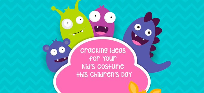 FancyDress ideas for ChildrensDay on your mind? Easy peasy ones here! DIY Kids