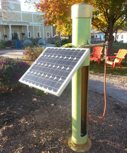 How to Build a DIY solar bike station solar diy biking howto green HomeFixated