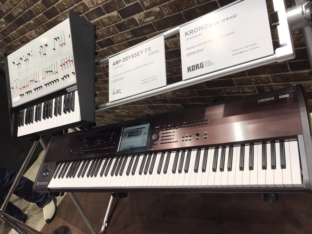 Korg ARP ODYSSEY FS with full-sized keys - Gearslutz
