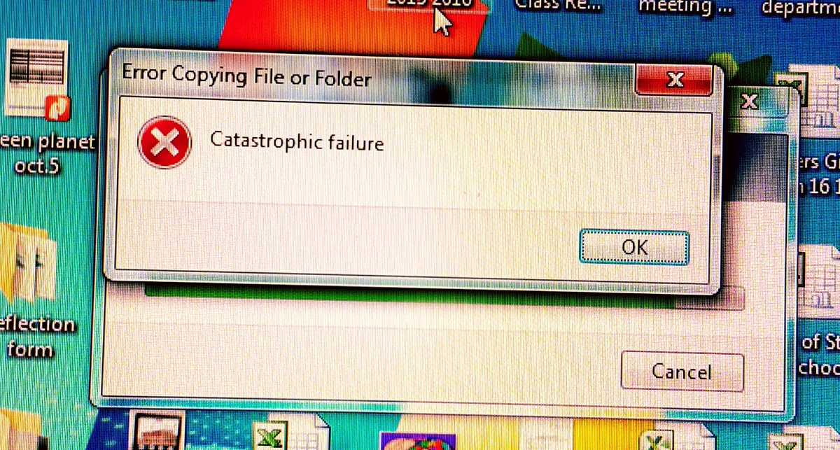catastrophic_failure hashtag on Twitter